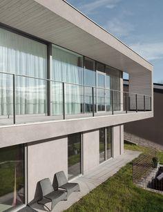 Haus - Ein gesamtheitliches Gestaltungskonzept in Linz Style At Home, Mansions, Design, House Styles, Interior, Projects, Home Decor, Linz, House