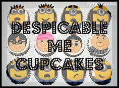 Despicable Me cupcakes blog