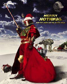 Santa Fett – Natal Star Wars