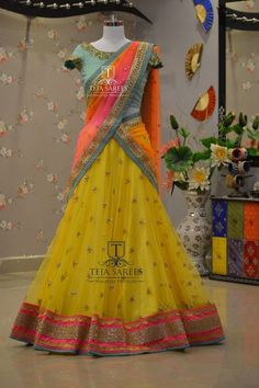 TS2PYSg7 -152 JUL Available  For queries/ price details Whats App us on 8341382382  Reach us on 8790382382 or please mail us at tejasarees@yahoo.com or Inbox us or you can Walk-in to our Store.. www.tejasarees.com  tejasarees  LikeNeverBefore  Newdesigns  create halfsaree traditional  Stay Amazed!!! Team Teja! 23 July 2016