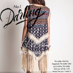 """MULTI PRINT BOHO DUSTER WITH FRINGE Very hip print duster in navy. Matches literally everything! Cotton & polyester blend. SO. BOHO.PLEASE DO NOT BUY THIS LISTING! I will personalize one for you. XL: 43"""" 1X: 46"""" 2X: 49"""" tla2 Other"""