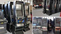 Foto #Konfiskohen aparatet ilegale te lojrave ne #Gjakov Arcade Games, Jukebox, Photos