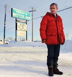 Martin Freeman in Fargo...how does his very presence not melt all that snow?
