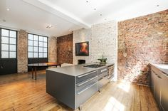 Exposed Brick Loft Space - www.photoplan.co.uk