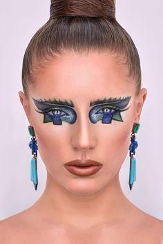 Обучение креативному макияжу. Мое виденье и методы. Курсы креатива для визажистов.