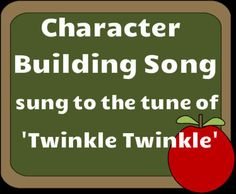 This is a wonderful song  that teaches character building values like respect, honesty, sharing, politeness, and kindness. It is sung to the tune of Twinkle Twinkle and will greatly resonate with children with its beautiful music and lyrics.