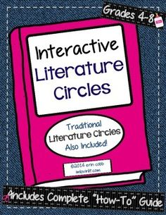 I so want to be brave and try Lit Circles in my classroom, and I think this product might help me....??