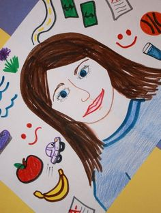 Help your child visualize her goals for the new year by creating a self-portrait that represents all of the amazing things she has done and hopes to do.