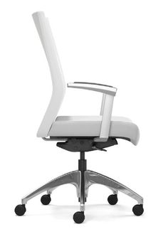 Highmark's Revel Body Balance Chair mirrors your body movement #ergonomics #officeseating #taskchair #Highmark