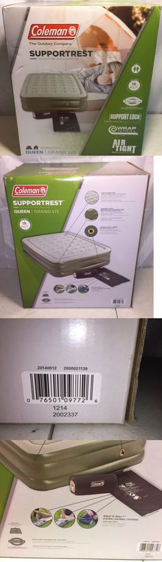 Mattresses and Pads 36114: Coleman Support Rest Double High Air Bed Mattress Queen Soft Plush Camping Gear -> BUY IT NOW ONLY: $59.95 on eBay!