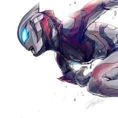 Ultraman Geed Robot Cartoon, Cartoon Art, Kamen Rider, Godzilla, Japanese Superheroes, Japanese Monster, Knight Art, Character Design, Character Art