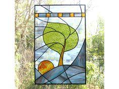 Stained Glass Garden Art