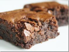 Almond Flour Brownies from the Wannabe Chef.  Made them and loved them, so delicious!