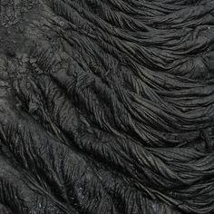 """Black (lava)"" by Jake Rome."