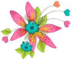 Set Ilustraciones Ya llegó la Primavera en Png para diseños manualidades | para bajar