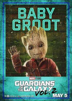 Guardianes de la Galaxia 2: Posters de los personajes   Cine PREMIERE