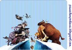Passatempo da Ana: Kit - A era do gelo 4