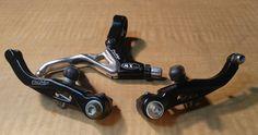 Promax MX V-Brake BMX Kit - BLACK - Lever & Caliper VINTAGE MID 90'S  #PROMAX #Brakes
