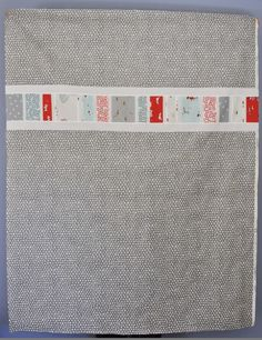 Kate Conklin Designs: Simple Strip Quilt Tutorial