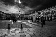 San Carlo square in Turin