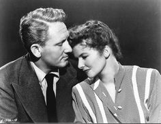 """Katharine Hepburn and Spencer Tracy teamed up for the first time in George Stevens' sparkling romantic comedy """"Woman of the Year,"""" which opened in 1942. Hepburn was nominated for an Oscar and Michael Kanin and Ring Lardner Jr's screenplay received the Academy Award."""