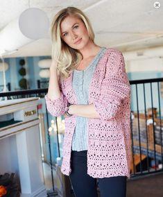 11 Cardigan Crochet Free Pattern women