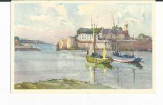 A Vintage Edition Stahli Watercolor Postcard by COLLECTORSCENTER, $5.00