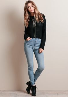 Eastcoast Ankle Jeans In Classic Stone By Rolla's at #threadsence @threadsence