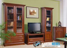 Bufet tv minimalis kayu jati jepara My Furniture, Living Room Designs, My Dream, Modern Design, Decoration, Flat Screen, Home Decor, Dreams, Cabinets