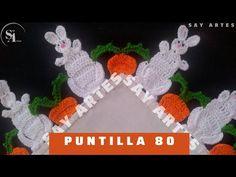 Crochet Hats, Youtube, Crochet Edging Patterns, Crochet Fruit, Crochet Edgings, Pillow Covers, Christmas Crafts, Rag Rugs, Hand Embroidery