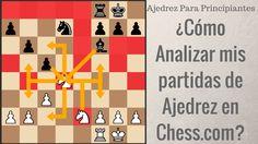 ¿Cómo aprovechar Chess.com para analizar nuestras partidas de ajedrez?