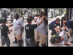 Eric Garner Chokehold Police Brutality VIDEO : Black Man Killed By Police One of the most recent (July 17th, 2014) cases of police brutality captured on surveillance camera.