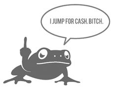 """""""Jumping Frog Fee"""" from 27bslash6.com, also known as that guy who writes articles based on trolling people"""