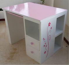 cardboard desk, bureau en carton
