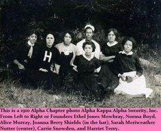 7 of the founders of Alpha Kappa Alpha Sorority, Inc.