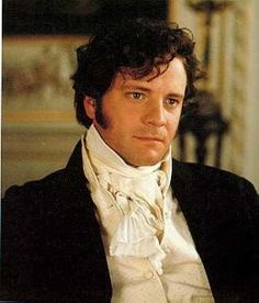 Colin Firth as Mr Darcy >>> Ack! Total dreamboat. Major smolderosity.