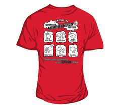 Annihilation MCM Tour Women's fitted T-shirt Red