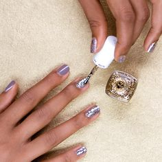 Sparkle and shine with some glitter nail polish! We all need some shine in our beauty routine, and this is it!