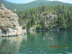 Rock Lake, BC