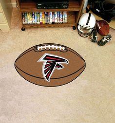 Amazon.com : FANMATS NFL Atlanta Falcons Nylon Face Football Rug : Sports Fan Area Rugs : Sports & Outdoors