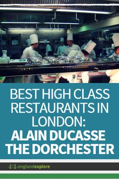 This 3 Michelin star restaurant is run by Alain Ducasse, the most successful restauranteur in the world. This restaurant is his first in London and has earned him 3 of his 15 Michelin stars. This location is a hyper-modern 80 seat dining room with a distinctly French menu.