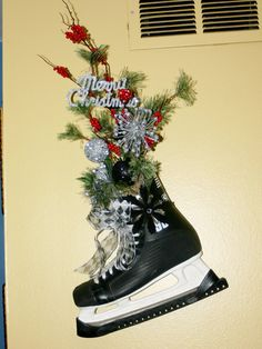 Ice Skates Decoration Christmas Decoration Hockey