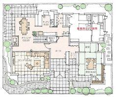 幕張イズ展示場|千葉県|住宅展示場案内(モデルハウス)|積水ハウス House Layouts, House Plans, Sweet Home, Floor Plans, How To Plan, Architecture, Japan, Home Decor, Arquitetura