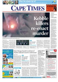 News making headlines: Kebble killers re-enact murder