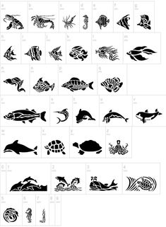 HFF Aqua Stencils (free)