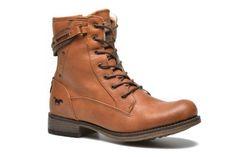 Bottines et boots Amis Mustang shoes vue 3/4
