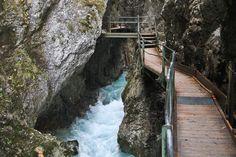 Leutaschklamm Wasserfallsteig