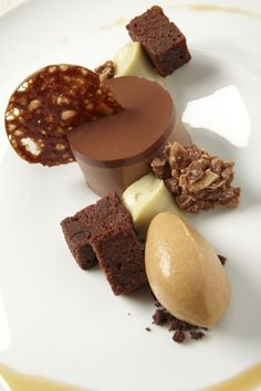 Pastry Chef Sarah Kosikowski from Chicago, IL. Recipe: Choco Noix de Coco