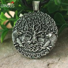 lanseis 1pcs Two wolves sigil commissioned Celt wolf pendant two wolves tree of life and world tree jewelry viking men necklace,High Quality world pendant,China tree pendant Suppliers, Cheap life of tree from Jewelry's World on Aliexpress.com