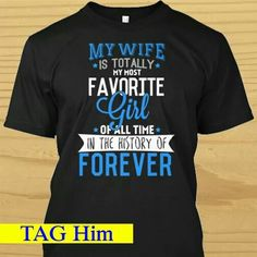 My wife is my most favorite girl